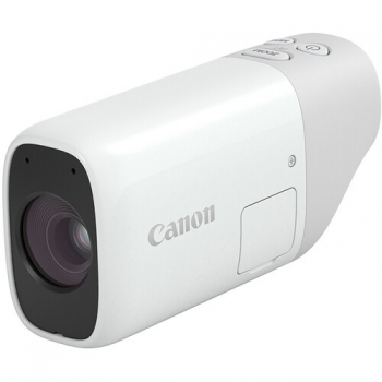 Digitální fotoaparát Canon PowerShot ZOOM šedý/bílý