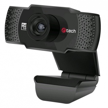 Webkamera C-Tech CAM-11FHD, 1080p černá