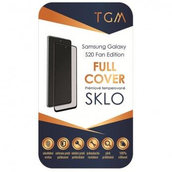 Tvrzené sklo TGM Full Cover na Samsung Galaxy S20 FE černé