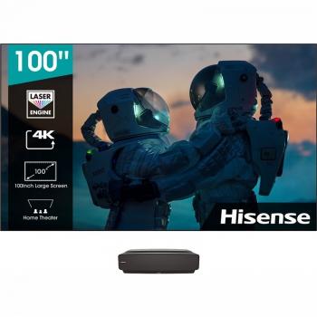 Laser TV Hisense 100L5F-B12 SMART s optickým panelem černá/šedá