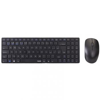 Klávesnice s myší Rapoo 9300M, CZ/SK layout černá