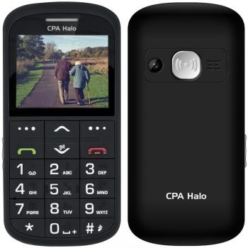 Mobilní telefon CPA Halo Halo 11 Pro Senior s nabíjecím stojánkem černý + dárek