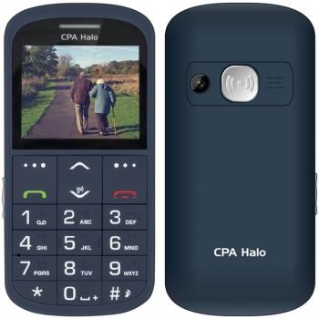Mobilní telefon CPA Halo Halo 11 Pro Senior s nabíjecím stojánkem modrý