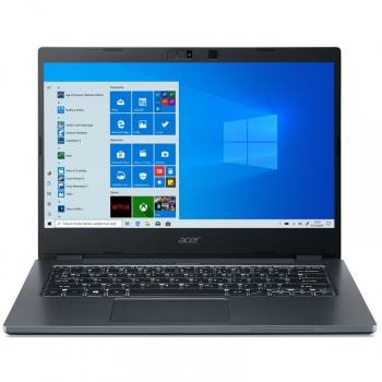 Notebook Acer TravelMate P4 (TMP414-51-59Z5) šedý/modrý