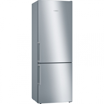 Chladnička s mrazničkou Bosch KGE49EICP nerez