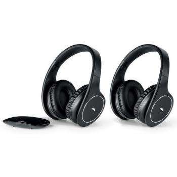 Sluchátka Meliconi HP Easy Digital Bundle černá