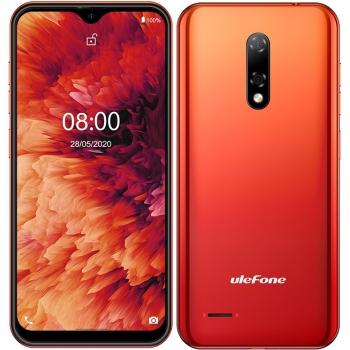 Mobilní telefon UleFone Note 8P oranžový