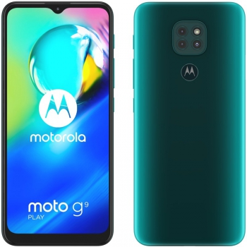 Mobilní telefon Motorola Moto G9 Play - Forest green