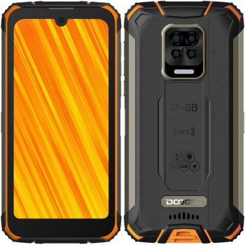 Mobilní telefon Doogee S59 PRO Dual SIM  oranžový