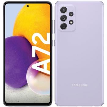 Mobilní telefon Samsung Galaxy A72 fialový