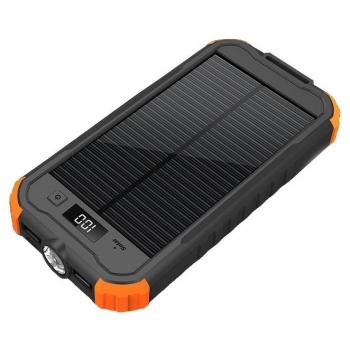 Powerbank Viking CHARLIE II 12 000mAh, outdoor černá/oranžová