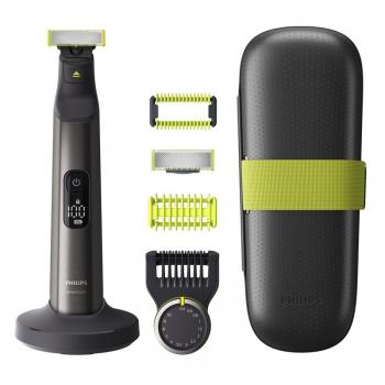 Zastřihovač vousů Philips OneBlade Pro QP6650/61 chrom