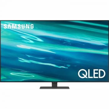 Televize Samsung QE55Q80A stříbrná