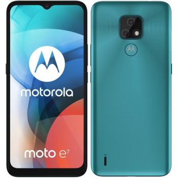 Mobilní telefon Motorola Moto E7 modrý