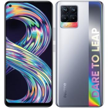 Mobilní telefon realme 8 64 GB - Cyber Silver