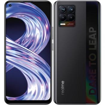 Mobilní telefon realme 8 128 GB - Cyber Black