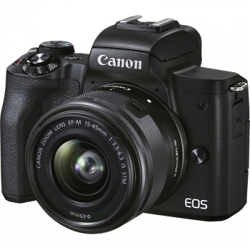 Digitální fotoaparát Canon EOS M50 Mark II Premium Live Stream KIT černý