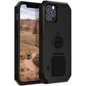 Kryt na mobil Rokform Rugged na Apple iPhone 12/12 Pro černý