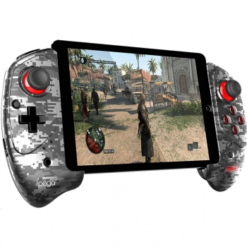 Gamepad iPega 9083A Wireless Extending Game Controller pro Android/iOS šedý