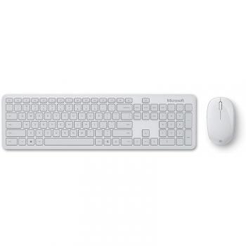 Klávesnice s myší Microsoft Bluetooth Desktop, CZ/SK bílá