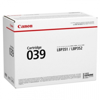 Toner Canon CRG 039, 11000 stran černý