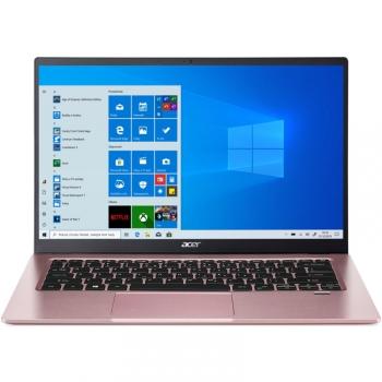 Notebook Acer Swift 1 (SF114-34-P5B2) růžový (Pentium Silver N6000, 128GB, Full HD, bez mechaniky, Intel UHD Graphics, BT, FPR, CAM, W10 S )