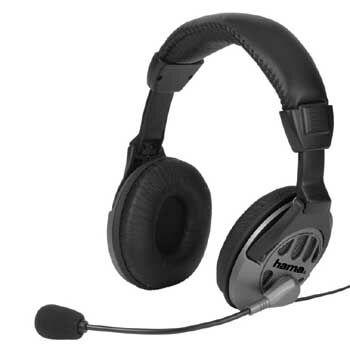 Headset Hama CS-408 černý/šedý