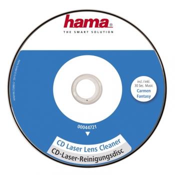 Čisticí CD, DVD, miniDV Hama 1ks