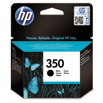 Inkoustová náplň HP Officejet No. 350, 4,5 ml - originální černá