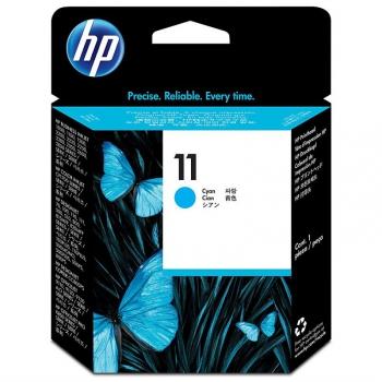 Inkoustová náplň HP 11, 28ml, 1750 stran modrá