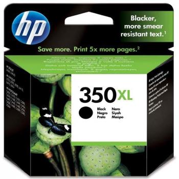 Inkoustová náplň HP Officejet 350XL, 1000 stran, černá