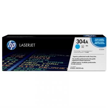 Toner HP 304A, 2800 stran modrý