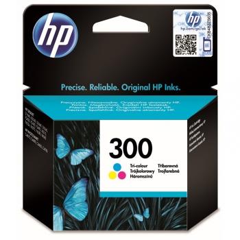 Inkoustová náplň HP Deskjet No. 300, 4 ml, 165 stran, CMY - originální