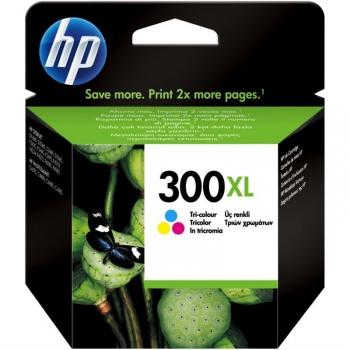Inkoustová náplň HP Deskjet No. 300XL, 11 ml, 440 stran - originální červená/modrá/žlutá