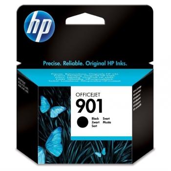Inkoustová náplň HP No. 901, 4 ml, 200 stran - originální černá
