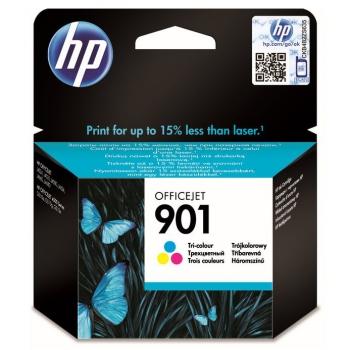 Inkoustová náplň HP No. 901, 360 stran - originální červená/modrá/zelená