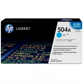 Toner HP 504A, 7000 stran modrý