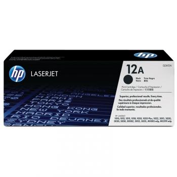 Toner HP Q2612A, 2K stran - originální černý