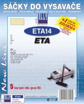 Sáčky do vysavače Jolly ETA 14