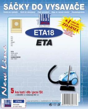 Sáčky do vysavače Jolly ETA 18