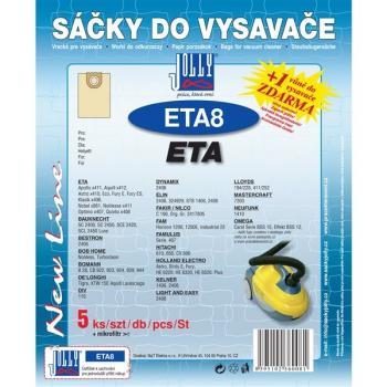 Sáčky do vysavače Jolly ETA 8