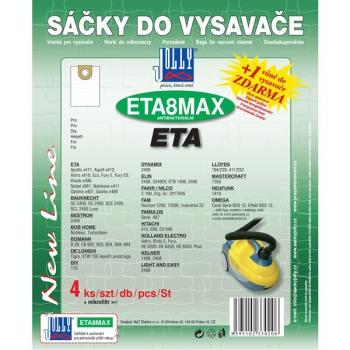 Sáčky do vysavače Jolly MAX ETA 8