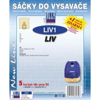 Sáčky do vysavače Jolly LIV 1