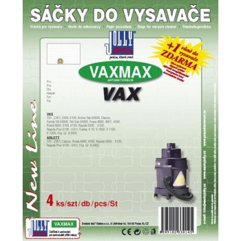 Sáčky do vysavače Jolly MAX VAX 1