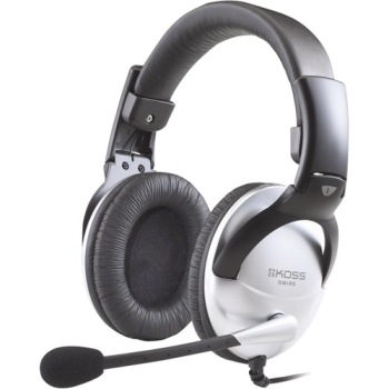 Headset Koss SB 45 černý/stříbrný