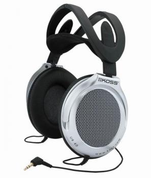 Sluchátka Koss UR 40 (doživotní záruka) černá/stříbrná