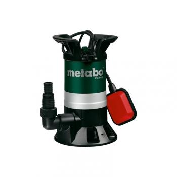 Čerpadlo kalové Metabo PS 7500 S, pro odpadní vody černé/modré