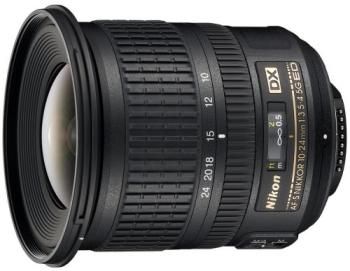 Objektiv Nikon 10-24MM F3.5-4.5G AF-S DX černý