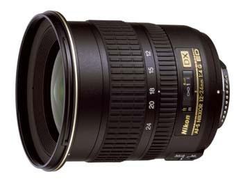 Objektiv Nikon NIKKOR 12-24MM F4 G IF-ED AF-S DX černý