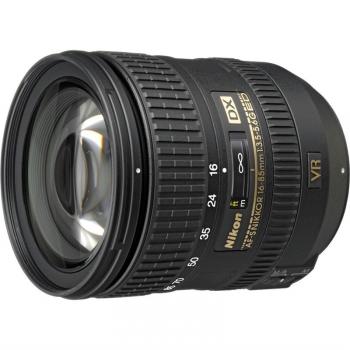 Objektiv Nikon NIKKOR 16-85 mm F3.5-5.6G AF-S DX VR ED  černý